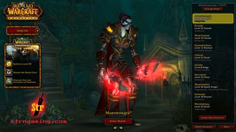 Wow Detox Monk by Muertenegra My Days As An Undead Rogue Strength In Gaming