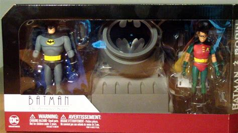 Dc Collectibles Batman The Animated Series Robin dc collectibles batman the animated series batman and robin with batsignal review