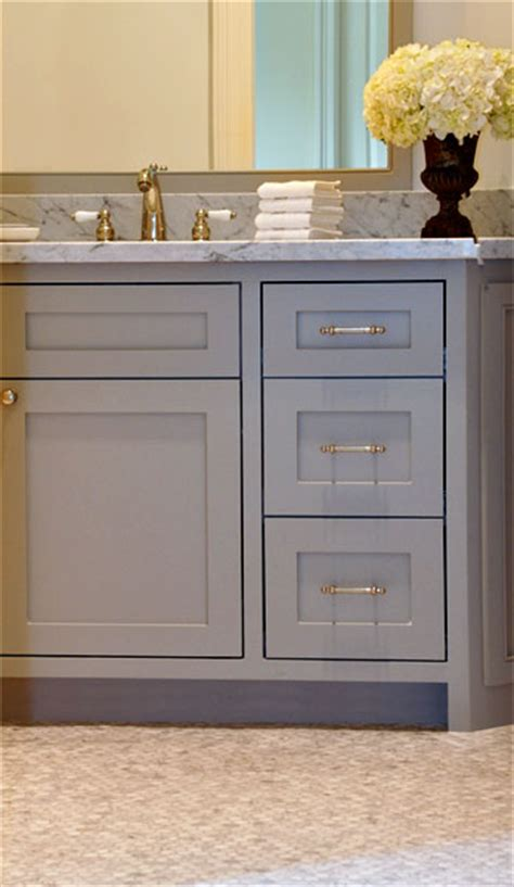 Bathroom Cabinets Grey Grey Bathroom Vanity Transitional Bathroom Luxe