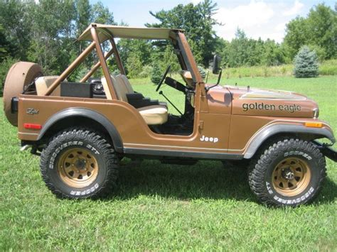 jeep golden eagle for sale found on craigslist 1979 jeep cj5 golden eagle winding road