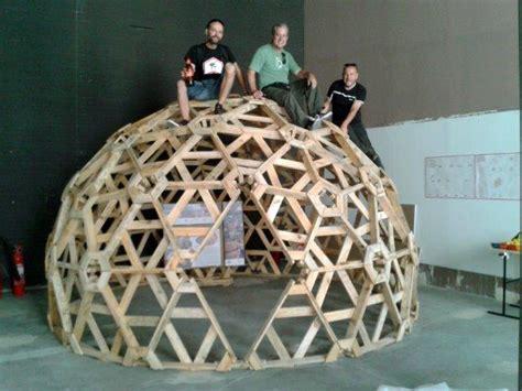 cupola geodetica legno geometrie geodetiche ctrl z arquitectura