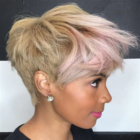 tapered bangs hairstyles 50 most captivating african american short hairstyles and