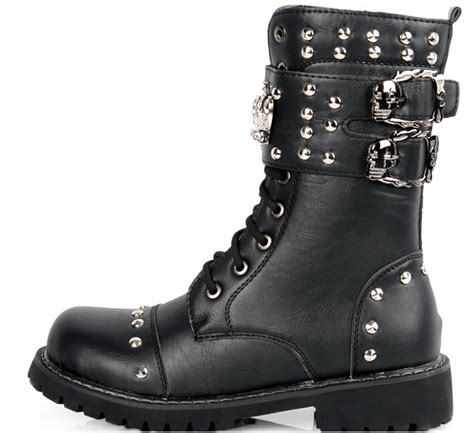 cheap motorcycle boots cheap fashion combat boots for men tsaa heel