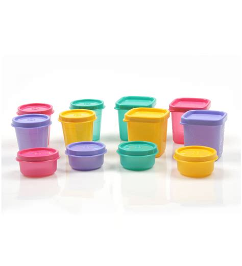 Tupperware T For 2 Tupperware Family Storage Pack Set Of 12 By Tupperware Airtight Storage Kitchen