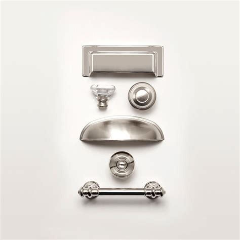 martha stewart living cabinet hardware martha stewart living 1 1 4 in polished nickel finial