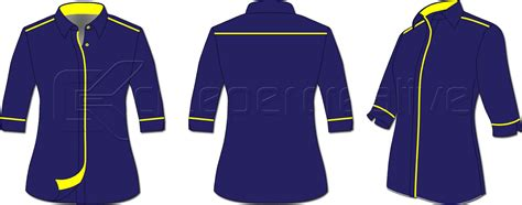 design baju korporat uniform design cs 02 series corporate shirts
