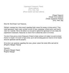 Tenancy Resignation Letter by 45 Eviction Notice Templates Lease Termination Letters