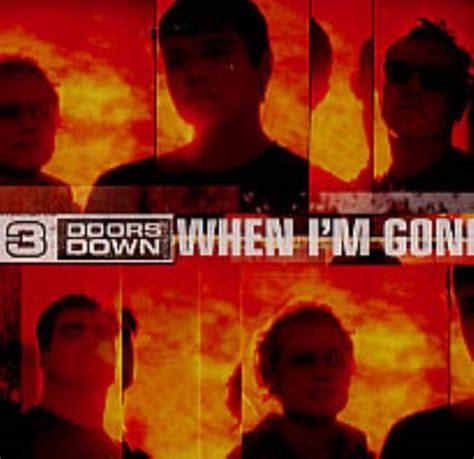 When I M 3 doors when i m us promo cd single cd5 5