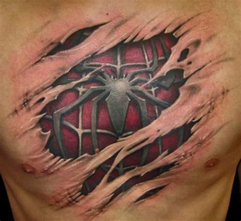 tattoo 3d art amazing 3d tattoos art