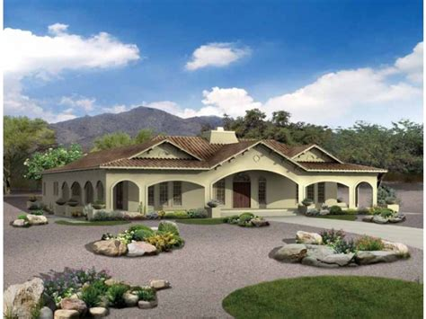 spanish style homes plans ranch style homes craftsman spanish ranch style house