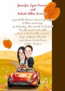 caricature wedding invitations uk on the car invitation ukhd033 ukhd033 163