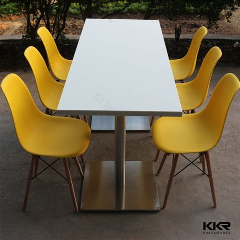 Wholesale Chairs And Tables wholesale acrylic tables mcdonalds furniture solid surface canteen tables and chairs buy