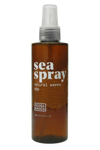 Organic Sea Spray For Hair Noosa Basics The