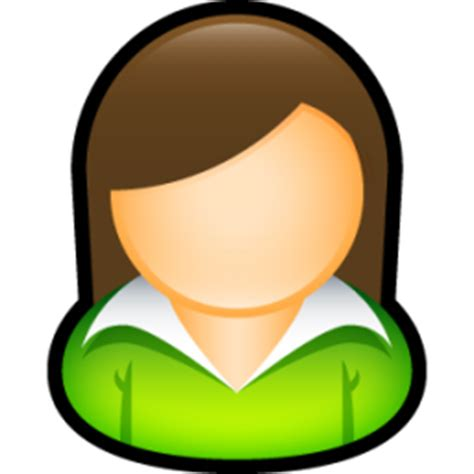 free female person icon 290745 | download female person