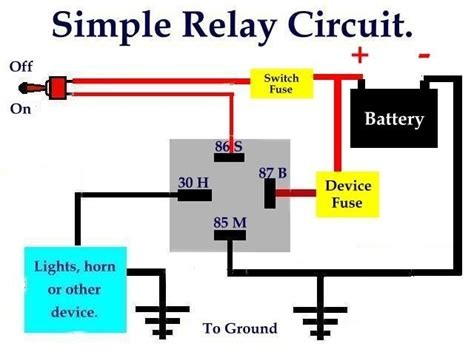 bosch 30 relay wiring diagram wiring diagram and