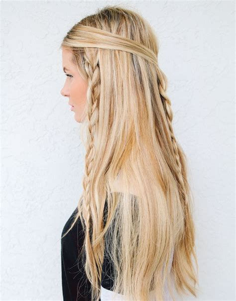 braided hairstyles hippie go retro with 10 modern 60s inspired hairstyles brit co