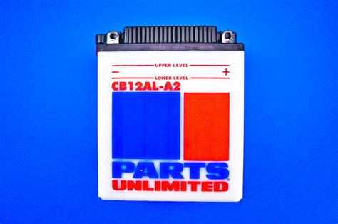 parts unlimited 12 volt heavy duty battery motorcycleparts2u