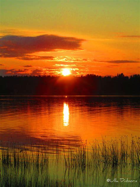 Sun Set sweden sunset times
