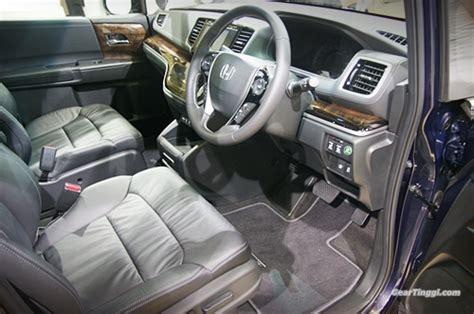 Cermin Kereta Honda Odyssey honda malaysia melancarkan odyssey 2014 dua minggu selepas pelancaran di jepun geartinggi