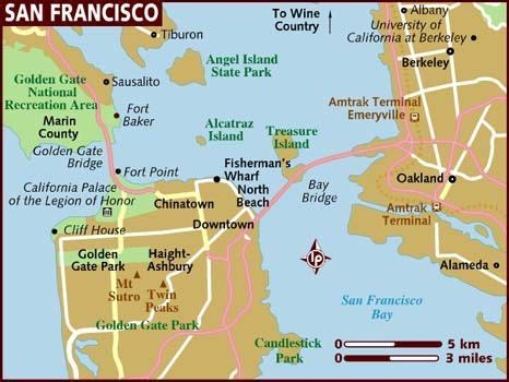 san francisco geography map quite the geography favourite holidays