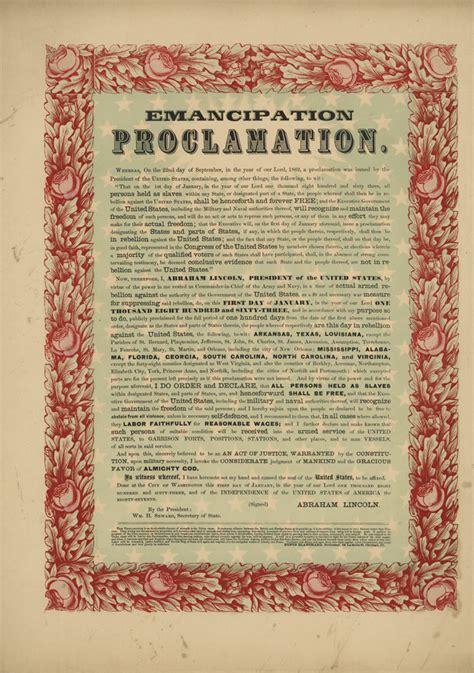 abraham lincoln biography emancipation proclamation proclaiming emancipation