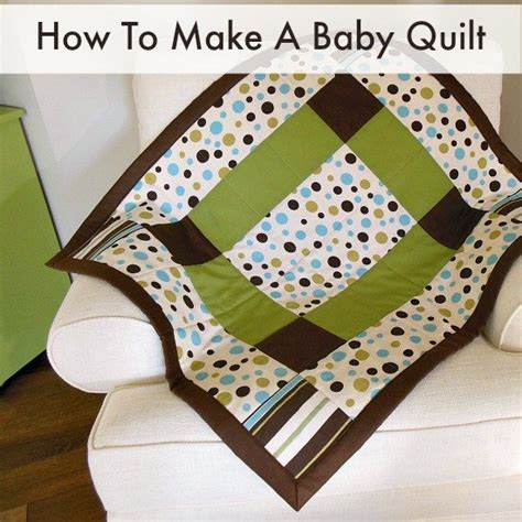 free sewing patterns so sew easy free tutorial how to make a baby quilt by so sew easy