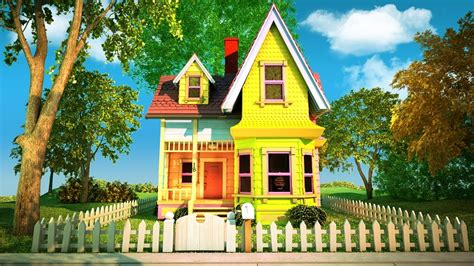 up the movie house pixar s up house delights kids and angers some adults