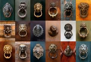 door knobs and knockers in italy italy