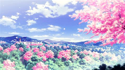 wallpaper gif bb gif cute kawaii flower scenery cherry blossom cute gif