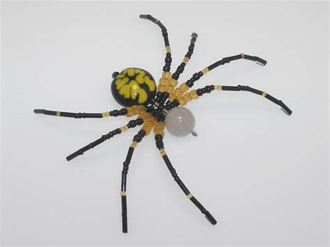 beaded spider beaded spider 225 black and yellow argiope beadlebugs