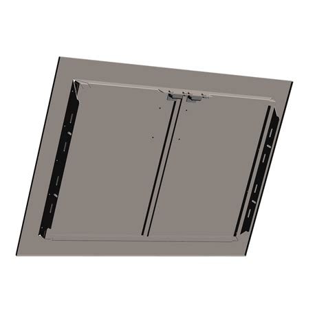 stainless steel cabinet door inserts stainless steel double door insert 187 lazyman gourmet grills