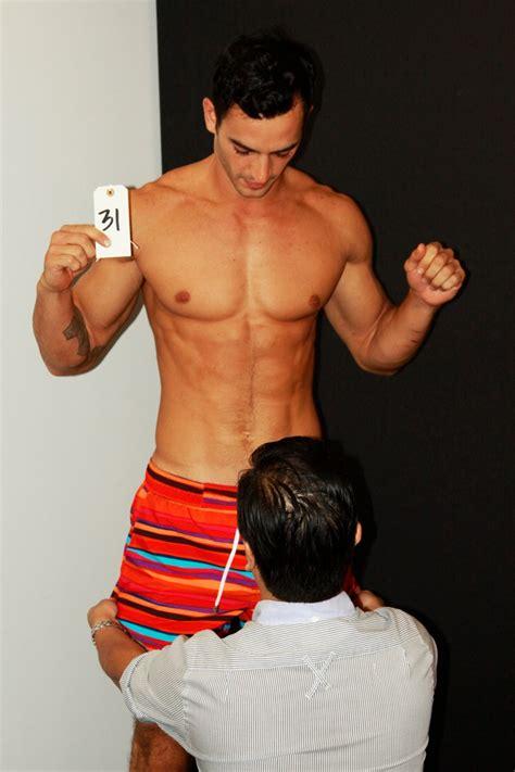scenes model fitting  xist underwear