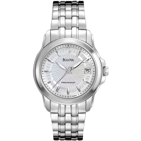 precisionist analogue silver stainless steel