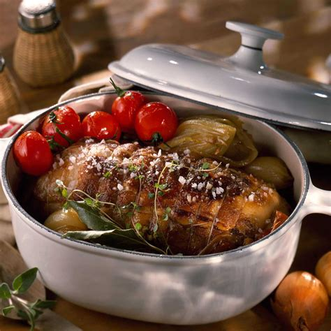 cuisine roti de veau r 244 ti de veau cocotte facile recette sur cuisine actuelle