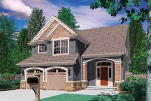 Home Design 50 Foot Lot by House Plans For Narrow Lots Houseplans Com