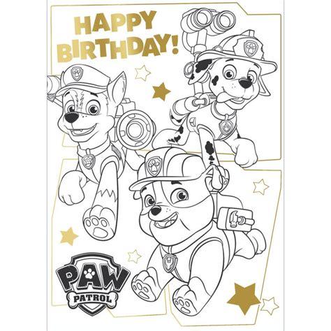 paw patrol greeting birthday cards ebay