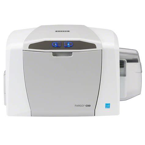 printers for card fargo c50 plastic id card printer card printing hid global