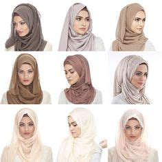 Segi 4 Layna Cotton Scarf Jilbab Selendang Pashmina Segi Empat 3 this is a easy basic style for beginners it s simple and will fit with
