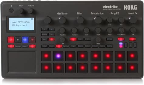 Korg Electribe 2 Metallic Blue image gallery electribe 2 adapter