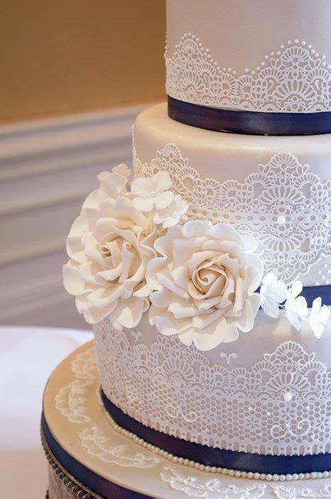 Chantilly lace wedding cake    Wedding.   Weddi