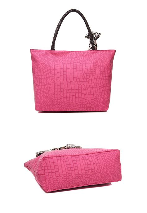 Tas Import Wanita 21451 Pink tas wanita import kulitmaterial pu leather bottom width 32