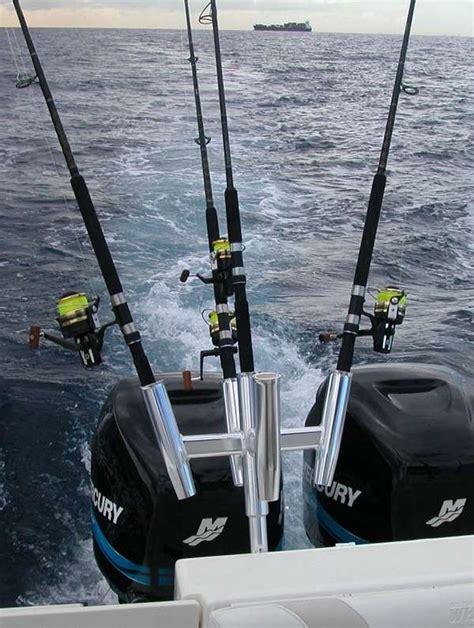 multiple fishing rod holders for boats tigress 88157 five banger rod holder for 5 fishing rods