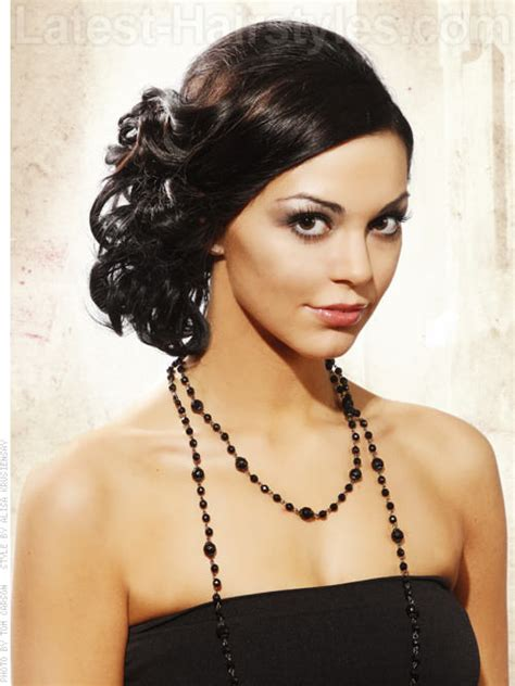 roaring 20 s hair styles prom hairstyles for medium length hair pictures and how to s