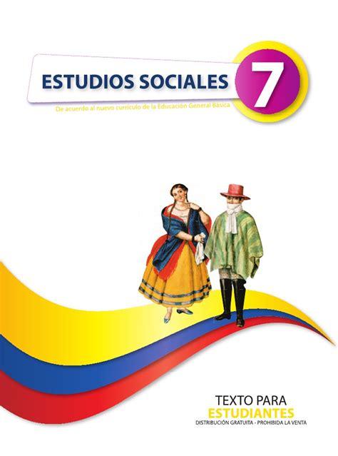 libro ciencias sociales mec 6 sociales 7 1