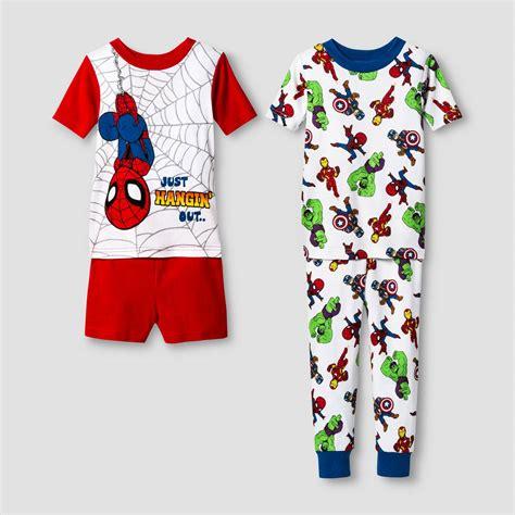 Set Polo Spider Kid toddler boys spider pajama set ebay
