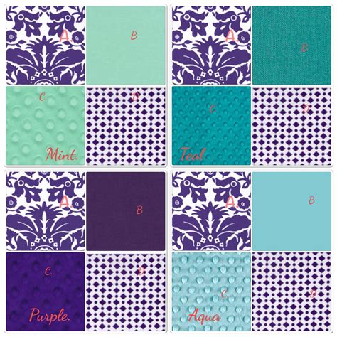 teal and purple crib bedding teal and purple gray crib bedding set peacock inspired