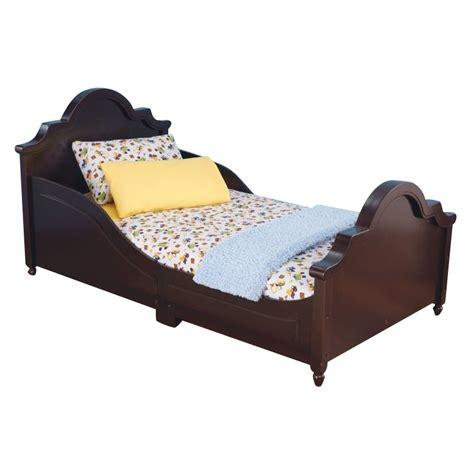 kidkraft raleigh toddler bed kidkraft raleigh toddler bed in espresso 86943