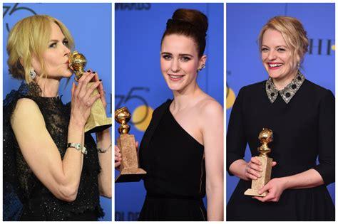 globos de oro la lista completa de pel 237 culas series y actores n tele 13 globos de oro 2018 lista completa de los ganadores en televisi 243 n