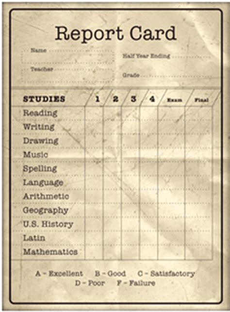 sunday school report card template lovin the report cards