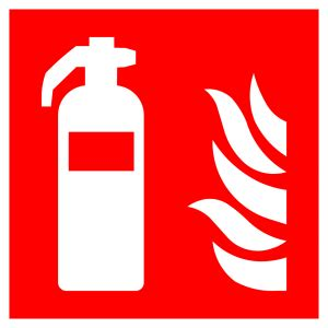 fire extinguisher high quality vector sign  symbols